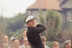 Gary Player, South Africa, in action during the first round at the Open Championship at Hoylake, Cheshire.