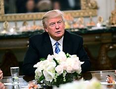 Washington - President Trump Hosts A Congressional Leadership Reception- 23 Jan 2017