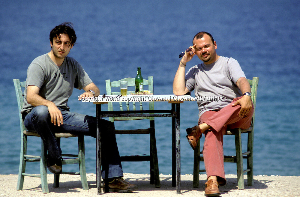 Konstantinos D. Tzamiotis, Maurizio De Rosa<br />world copyright Giovanni Giovannetti/effigie / Writer Pictures<br /> <br /> NO ITALY, NO AGENCY SALES / Writer Pictures<br /> <br /> NO ITALY, NO AGENCY SALES