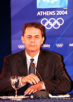 IOC: ROGGE, Jacques      IOC PrŠesident<br />  Kontroll-Besuch in der Olympiastadt Athen