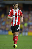 Jay Rodriguez of Southampton looking on. Barclays Premier League, Watford v Southampton at Vicarage Road in London on Sunday 23rd August 2015.<br /> pic by John Patrick Fletcher, Andrew Orchard sports photography.