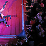 Wrestlers perform at an all female wrestling event in London, Britain August 12, 2017. EVE a women only wresting event and is based in Bethnal Green calling itself the UK's premier feminist-punk-rock wrestling promotion