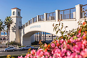 Huntington Beach Pedestrian Bridge Connects Hyatt Resort Visitors to Beach