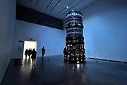 Engeland, Londen, 10-4-2019Straatbeeld van het centrum van de stad. Tate museum of modern art, moderne kunst, cultuur, voormalge elektriciteitscentrale .Foto: Flip Franssen