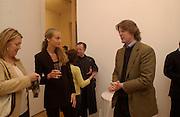 Cecilia Faggionato and Mark Getty, Wayne Thiebaud opening, Faggionato Fine Arts, Albermarle St. 10 April 2003. © Copyright Photograph by Dafydd Jones 66 Stockwell Park Rd. London SW9 0DA Tel 020 7733 0108 www.dafjones.com
