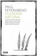 book cover for Filosofia Natural by Paul Feyerabend