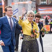 NLD/Groningen/20180427 - Koningsdag Groningen 2018, Prins Constantijn en Prinses Laurentien