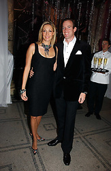 NADJA SWAROVSKI and her husband RUPERT ADAMS at the British Fashion Awards 2006 sponsored by Swarovski held at the V&A Museum, Cromwell Road, London SW7 on 2nd November 2006.<br /><br />NON EXCLUSIVE - WORLD RIGHTS