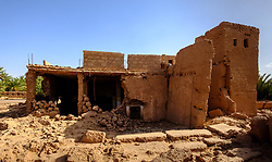 A ruined Kasbah near Mhamid in southern Morocco<br /> <br /> (c) Andrew Wilson | Edinburgh Elite media