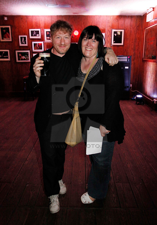 Dom Pipkin and Eithne Mooney, pictured at the launch of Arthur's Day 2011. Pic Andres Poveda CPR