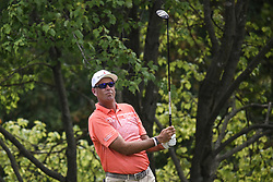 August 12, 2018 - Town And Country, Missouri, U.S - STEWART CINK from Duluth Georgia, USA watches his tee shot, on hole two during round four of the 100th PGA Championship on Sunday, August 12, 2018, held at Bellerive Country Club in Town and Country, MO (Photo credit Richard Ulreich / ZUMA Press) (Credit Image: © Richard Ulreich via ZUMA Wire)