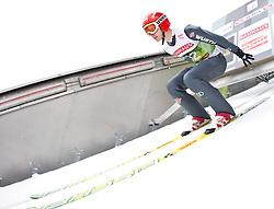 02.01.2011, Bergisel, Innsbruck, AUT, Vierschanzentournee, Innsbruck, Training, im Bild // Bodmer Pascal (GER) // during the 59th Four Hills Tournament Training in Innsbruck, EXPA Pictures © 2011, PhotoCredit: EXPA/ J. Feichter