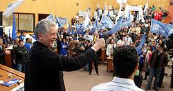 O pré-candidato José Fortunati participa da conveção do PP - Partido Progressista na Câmara Municipal de Porto Alegre. FOTO: Jefferson Bernardes/Preview.com