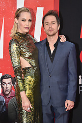 Leslie Bibb, Sam Rockwell attend the premiere of Warner Bros. Pictures and New Line Cinema's 'TAG' on June 07, 2018 in Los Angeles, California. Photo by Lionel Hahn/ABACAPRESS.COM