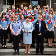 Girls Guides Reception - Government House 2020