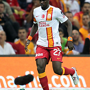 Galatasaray's Emmmanuel Eboue during their Turkish Super League soccer match Galatasaray between Eskisehirspor at the TT Arena at Seyrantepe in Istanbul Turkey on Saturday, 06 October 2012. Photo by TURKPIX