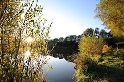 10.10.2010, Knittelfeld, AUT, Herbst Features, Bild zeigt Herbststimmung mit einem Teich bei Sonnenuntergang, EXPA Pictures © 2010, PhotoCredit: EXPA/ S. Zangrando