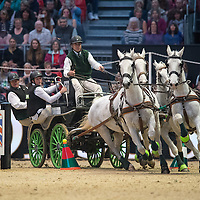 Driving - London Olympia Horse Show 2016