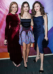 LOS ANGELES, CA, USA - JANUARY 23: Los Angeles Art Show 2019 Opening Night Gala held at the Los Angeles Convention Center on January 23, 2019 in Los Angeles, California, United States. 23 Jan 2019 Pictured: Abigail Cowen, Bailee Madison, Peyton List. Photo credit: Xavier Collin/Image Press Agency / MEGA TheMegaAgency.com +1 888 505 6342