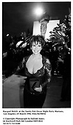 Racquel Welch  at the Vanity Fair Oscar Night Party Mortons,  Los Angeles. 25 March 1996. Film.96190f34<br /><br />© Copyright Photograph by Dafydd Jones<br />66 Stockwell Park Rd. London SW9 0DA<br />Tel 0171 733 0108