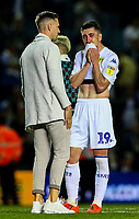Leeds United's Pablo Hernandez reacts after the final whistle<br /> <br /> Photographer Alex Dodd/CameraSport<br /> <br /> The EFL Sky Bet Championship Play-off Second Leg - Leeds United v Derby County - Wednesday May 15th 2019 - Elland Road - Leeds<br /> <br /> World Copyright © 2019 CameraSport. All rights reserved. 43 Linden Ave. Countesthorpe. Leicester. England. LE8 5PG - Tel: +44 (0) 116 277 4147 - admin@camerasport.com - www.camerasport.com