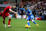 Peterborough United midfielder Siriki Dembele (10) on the attack during the EFL Sky Bet League 1 match between Peterborough United and Walsall at London Road, Peterborough, England on 22 December 2018.