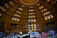 Interior architecture of Central Market, Phnom Penh, Cambodia, Southeast Asia
