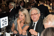 SABRINA GUINNESS; JEREMY THOMAS, Luminous -Celebrating British Film and British Film Talent,  BFI gala dinner & auction. Guildhall. City of London. 6 October 2015.