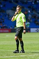 Football - 2021 / 2022 EFL Sky Bet Championship - Cardiff City vs Bristol City - Cardiff City Stadium - Saturday 28th August 2021<br /> <br /> referee Mr David Webb  <br /> <br /> COLORSPORT/WINSTON BYNORTH