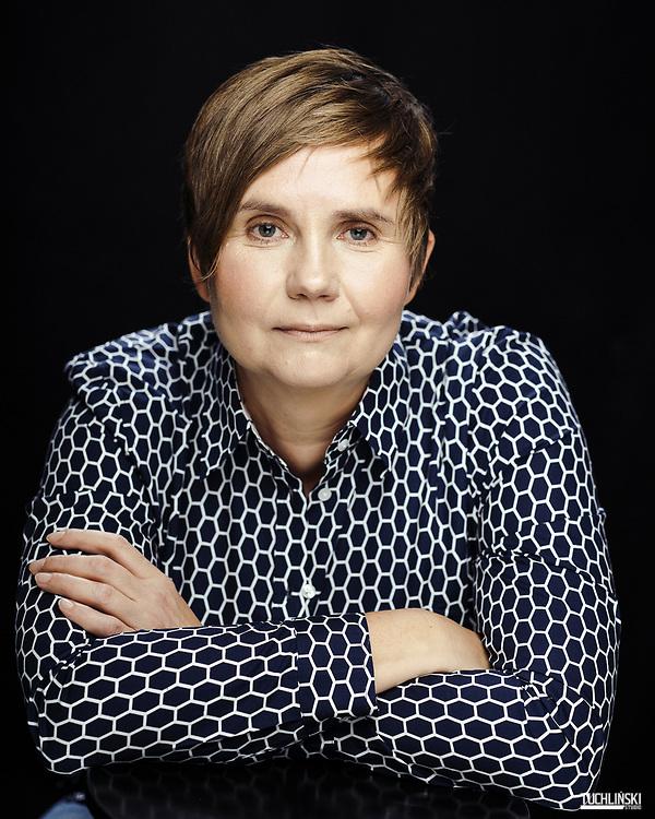 Warszawa, Polska 13.09.2019<br /> Krystyna Romanowska - dziennikarka, pisarka, autorka książek.<br /> Fot. Adam Tuchlinski