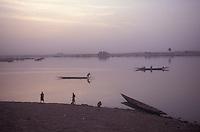 The Niger River in Mopti, Mali