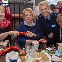 Rita Nash, Kathleen Casey and Carmel Hogan from Sixmilebridge with Garda Fiona Morgan