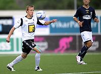 Fotball<br /> Norge<br /> NM - Norgesmesterskapet<br /> Tredje runde<br /> Asker v Stabæk 2:1<br /> Foto: Morten Olsen, Digitalsport<br /> <br /> Kevin Nicol - Asker