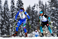 March 8, 2019 - –Stersund, Sweden - 190308 Dorothea Wierer of Italy and Julia Simon of France competes in the Women's 7.5 KM sprint during the IBU World Championships Biathlon on March 8, 2019 in Östersund..Photo: Petter Arvidson / BILDBYRÃ…N / kod PA / 92247 (Credit Image: © Petter Arvidson/Bildbyran via ZUMA Press)