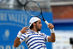 Spain's Feliciano Lopez during day four of the 2017 AEGON Championships at The Queen's Club, London.