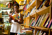 Belo Horizonte_MG, Brasil..Leitura na Escola Estadual Professor Leopoldo de Miranda...The students is reading in the Professor Leopoldo de Miranda State School...Foto: JOAO MARCOS ROSA / NITRO