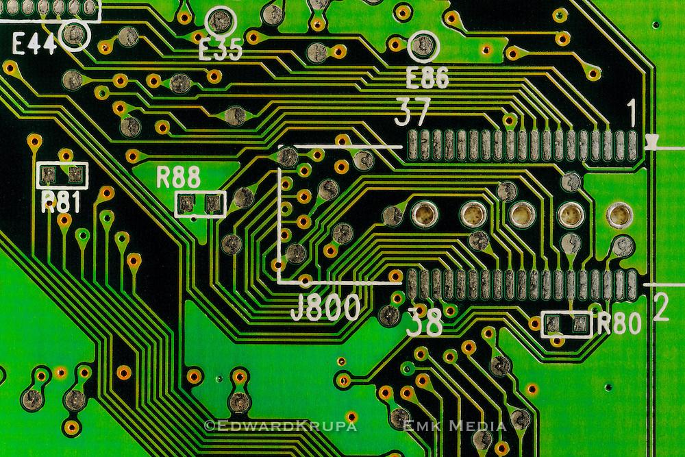 Circuit board detail.