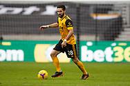 Joao Moutinho (28) of Wolverhampton Wanderers during the Premier League match between Wolverhampton Wanderers and West Bromwich Albion at Molineux, Wolverhampton, England on 16 January 2021.