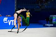 Tara Wilkie from Australia was born in Sydney on November 24, 1999, began rhythmic gymnastics at the age of six.