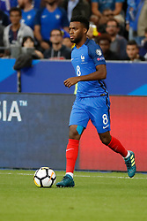 France's Thomas Lemar during the World Cup 2018 Group A qualifications soccer match, France vs Netherlands at Stade de France in Saint-Denis, suburb of Paris, France on August 31st, 2017 France won 4-0. Photo by Henri Szwarc/ABACAPRESS.COM