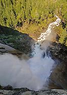 Nevada Fall, (594') Grand Staircase of the Merced River, Yosemite National Park, California