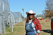 December 9, 2020 Jackson MS  Cindy Ayers owner of Footprints Farms © Suzi Altman