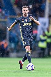 September 1, 2018 - Parma, Italy - Miralem Pjanic of Juventus during Serie A match between  Parma v Juventus in Parma, Italy, on September 1, 2018. (Credit Image: © Giuseppe Maffia/NurPhoto/ZUMA Press)