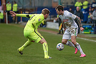 James Norwood (Tranmere Rovers) during the Vanarama National League match between Tranmere Rovers and Southport at Prenton Park, Birkenhead, England on 6 February 2016. Photo by Mark P Doherty.