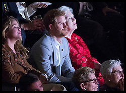 October 1, 2017 - Toronto, Canada - Image licensed to i-Images Picture Agency. 30/09/2017. Toronto, Canada. Prince Harry at the closing ceremony of the  Invictus Games in Toronto, Canada.  Picture by Stephen Lock / i-Images (Credit Image: © Stephen Lock/i-Images via ZUMA Press)