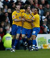 Photo: Steve Bond/Richard Lane Photography. Derby County v Crystal Palace. Coca Cola Championship. 06/12/2008. Paddy McCarthy (C) celebrates his early goal