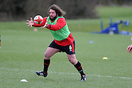 120313 Wales rugby team training