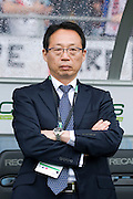 Takeschi Okada, Japan team head coach, May 30, 2010 - Football : World Cup South Africa 2010 test match ,  match between Japan 1-2 England  at Libenau stadium, Graz, Austria, (Photo by Enrico Calderoni/AFLO SPORT) [0391]