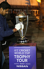 The ICC Cricket World Cup Trophy Tour - 26 Oct 2018
