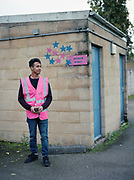 Ticket collector, Masum during Dulwich Hamlet FC vs Hendon at Champion Hill on 12th September 2017 in South London in the United Kingdom. Dulwich Hamlet was founded in 1893 and both teams play in the Isthmian League Premier Division, a regional mens football league covering London, East and South East England.